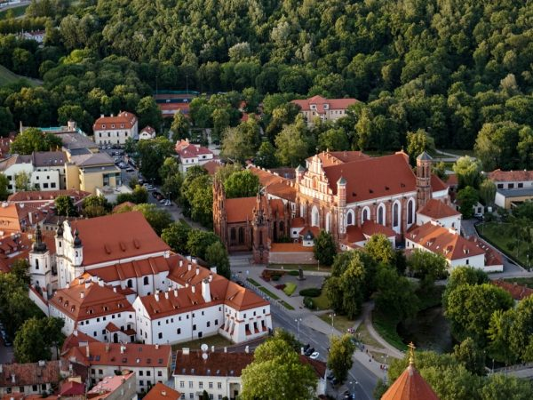 Vilnius Old Town from above