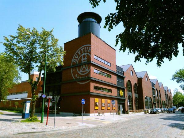 Svyturys Brewery in Klaipeda