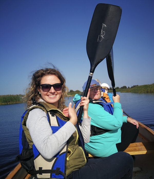 Kayaking is one of favorite Lithuanian adventures