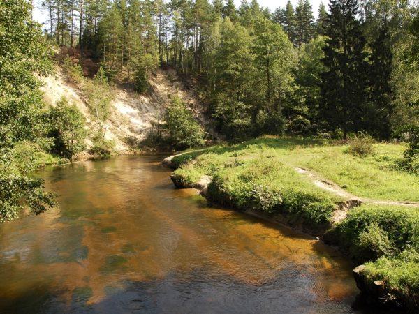 Minija River stretches for 202 kilometers