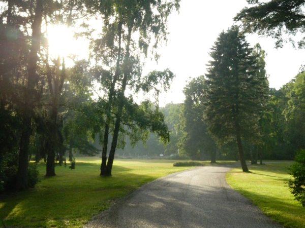 Palanga Botanical garden created in 19th century
