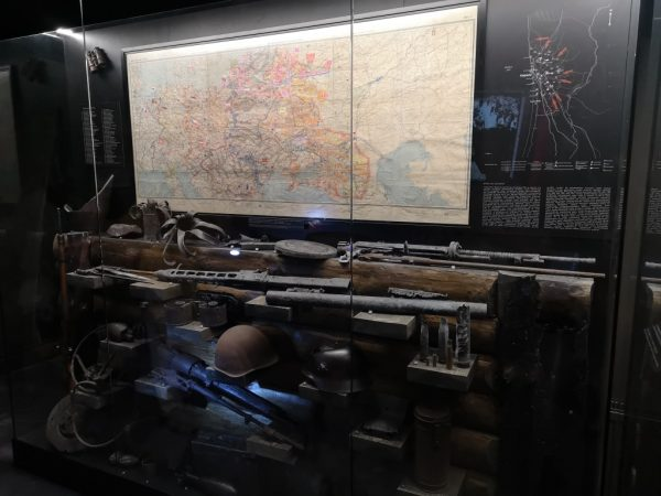 Museum 39/45. Exposition of weapons used during WWII