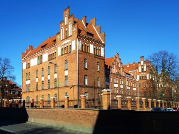 Former military campus, now Klaipeda University
