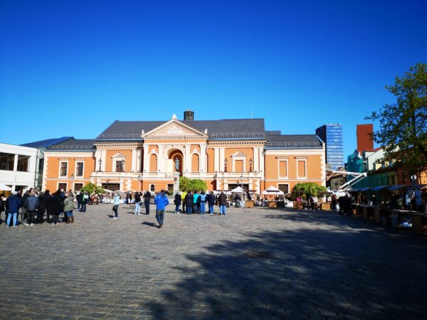 Klaipeda Old Town, Theatre Square