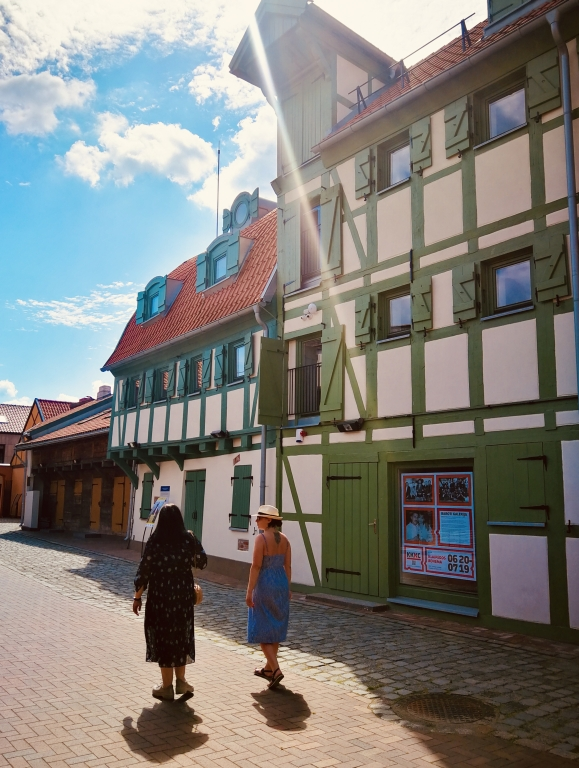 Guided walk in the Old Town of Klaipeda